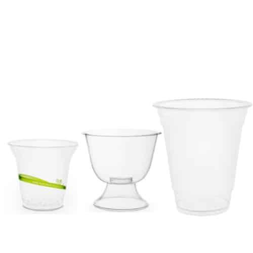 Bicchieri compostabili per bevande fredde