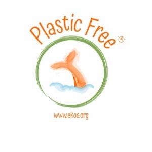 logo spiaggia senza plastica