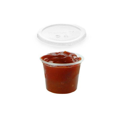 Bicchierini e porta salsa